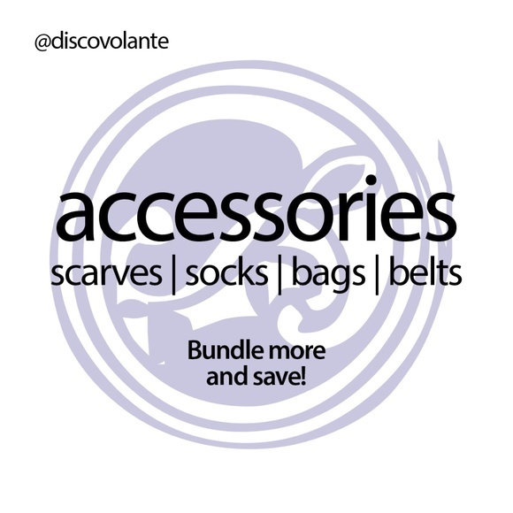 SCARVES | WRAPS | BELTS | SOCKS & BAGS